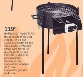 Oferta de BARBACOA ALGO MÁS por 119€