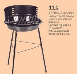 Oferta de BARBACOA SAMOA por 11,95€