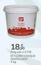 Oferta de SF CLORO CHOQUE GRANULADO por 18,9€