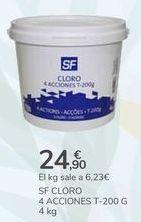 Oferta de SF CLORO 4 ACCIONES  por 24,9€
