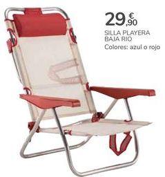 Oferta de SILLA PLEYERA BAJA RIO por 29,9€