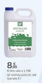 Oferta de SF ANTIALGAS DC S/E  por 8,9€