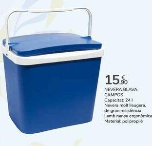 Oferta de NEVERA AZUL CAMPOS por 15,9€