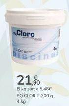 Oferta de PQ CLORO T-200 G por 21,9€