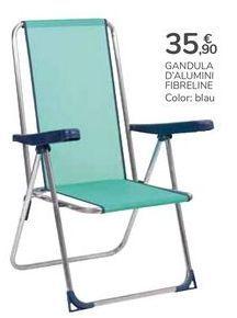 Oferta de HAMACA DE ALUMINIO FIBRELINE por 35,9€