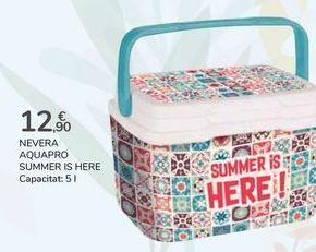 Oferta de NEVERA AQUAPRO SUMMER IS HERE  por 12,9€