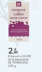 Oferta de SF ELIMINADOR DE TURBIDEZ por 2,9€