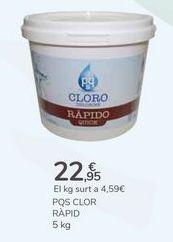 Oferta de PQS CLORO RÁPIDO por 22,95€