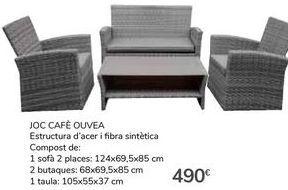Oferta de SET CAFÉ OUVÉA por 490€