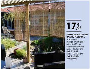 Oferta de Estor enrollable por 17,95€