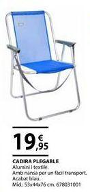 Oferta de Silla plegable por 19,95€