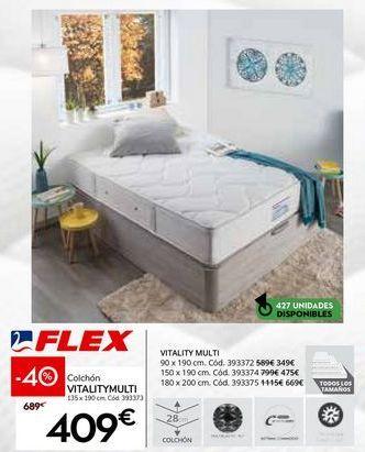 Oferta de Colchones Flex por 409€