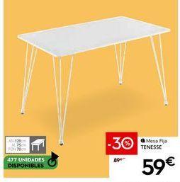 Oferta de Mesa por 59€