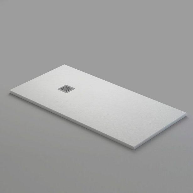 Oferta de Plato de Ducha Mineral Gel Coat Blanco 70x120 cm por 199€
