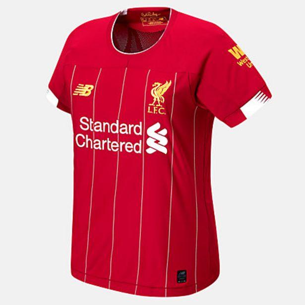 Oferta de Camiseta Manga Corta Liverpool FC Home Mujer por 40€