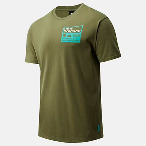 Oferta de Camiseta NB Athletics Trail Stamp por 18€