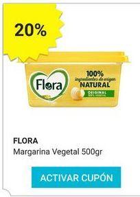 Oferta de Margarina Flora por