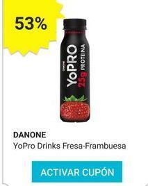 Oferta de Yogur de sabores Danone por
