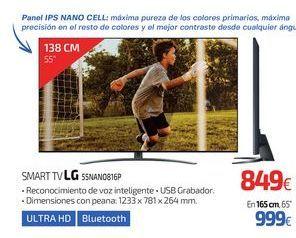 Oferta de SMART TV LG 55NANO816P por 849€