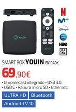 Oferta de SMART BOX YOUIN EN1040K por 69,9€