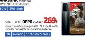 Oferta de SMARTPHONE OPPO A54BLACK por 269€