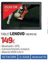 Oferta de TABLET LENOVO TAB M10 HD por 149€