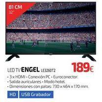 Oferta de LED TV ENGEL LE3260T2 por 189€