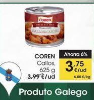 Oferta de COREN Callos, 625 g por 3,75€