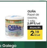 Oferta de OLIÑA Papel de cocina, 1 rollo por 2,19€