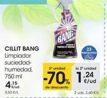 Oferta de En los limpiadores CILLITBANG señalizados por 4,15€