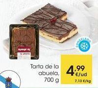 Oferta de Tarta de la abuela, 700 g por 4,99€
