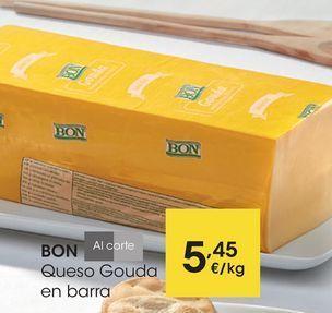 Oferta de BON Queso Gouda en barra por 5,45€