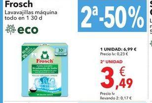 Oferta de Lavavajillas maquina  por 6,99€