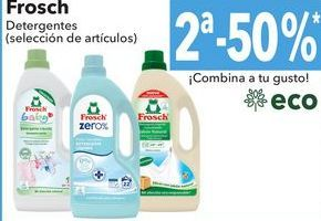 Oferta de Frosch detergentes por