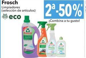Oferta de Frosch limpiadores por