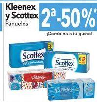 Oferta de Kleenex y Scottex Pañuelos por