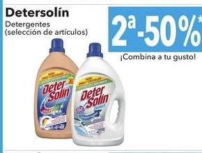 Oferta de Detersolin detergentes por