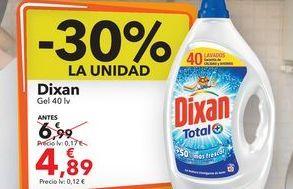 Oferta de Dixan gel 40 lv por 4,89€