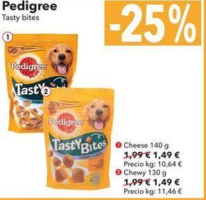 Oferta de Pedigree Tasty bites por 1,49€