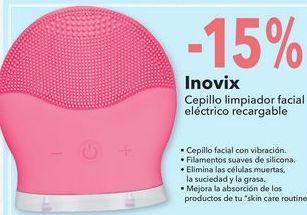 Oferta de Cepillo limpiador facial electrico recargable por