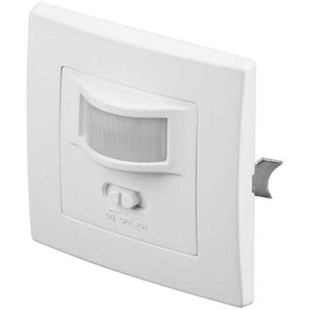 Oferta de GooBay Goobay 96005 detector de movimiento Alámbrico Pared Blanco por 19,44€