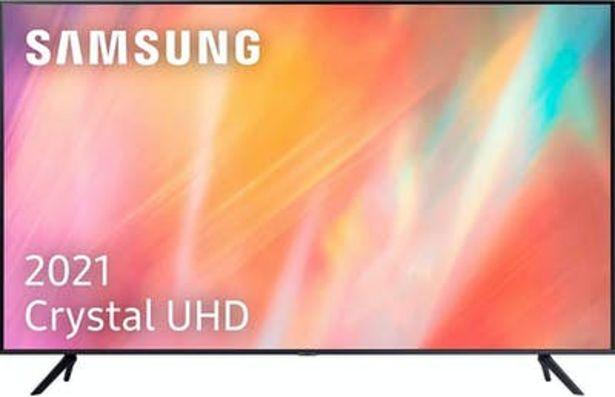 Oferta de Samsung SAMSUNG UE55AU7105 TELEVISOR 55'' LED 4K HDR 2000P por 565,71€