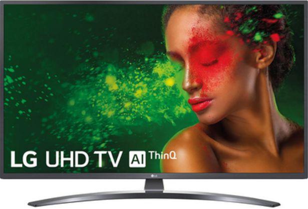 Oferta de LG 55UM7400PLB UHD TV 55 AI ThinQ por 600€