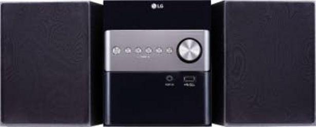Oferta de LG CM1560 Micro set 10W Negro sistema de audio par por 72,81€