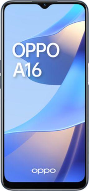 Oferta de Oppo A16 64GB+4GB RAM por 169€