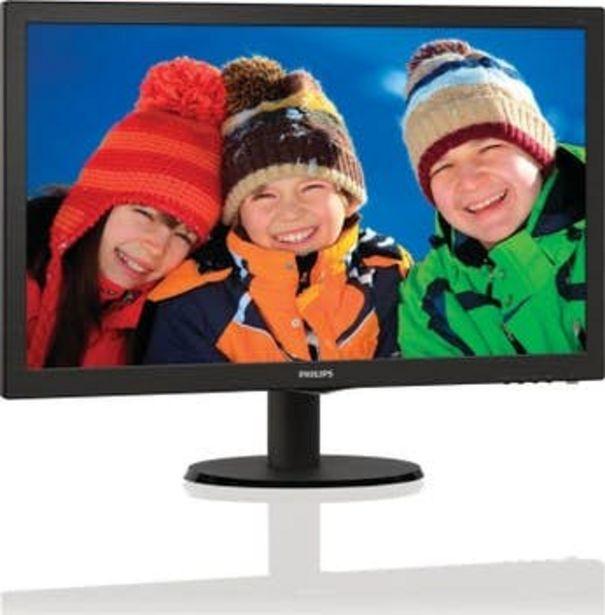 Oferta de Philips Monitor LCD con SmartControl Lite 243V5LHA por 135,99€