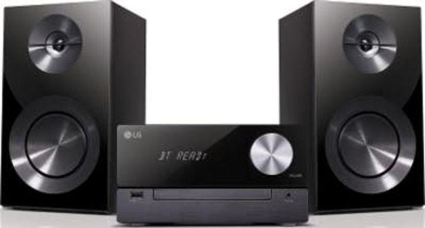 Oferta de LG CM2460 Micro set 100W Negro sistema de audio pa por 95,01€