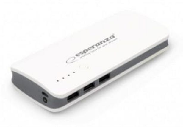 Oferta de Esperanza EMP106WE Radium batería externa Gris, Blanco 8000 mAh por 11,34€