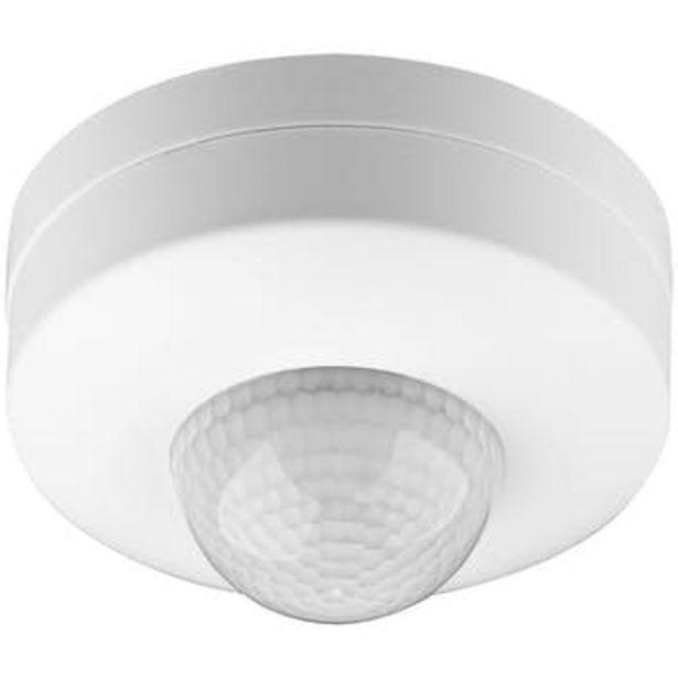 Oferta de GooBay Goobay 96007 detector de movimiento Sensor infrarrojo pasivo (PIR) Alámbrico Blanco por 25,23€
