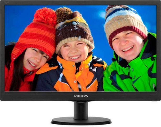 Oferta de Philips Monitor LCD SmartControl Lite 18.5 HD por 114,69€